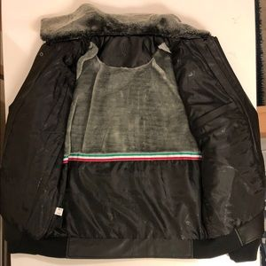 c95eb8174 Italian jacket Leather brand BV cloting